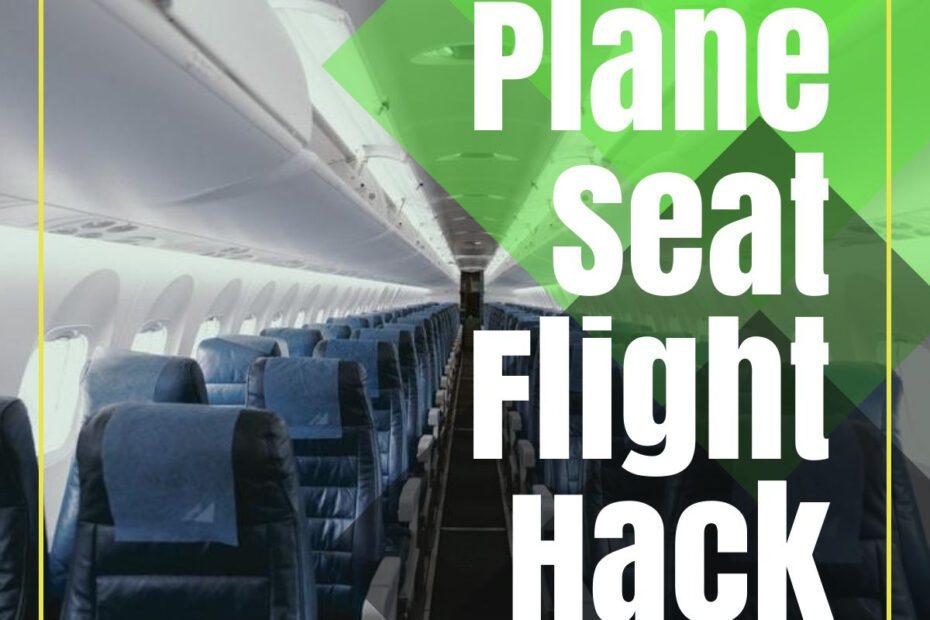plane seat flight hack the professional traveller