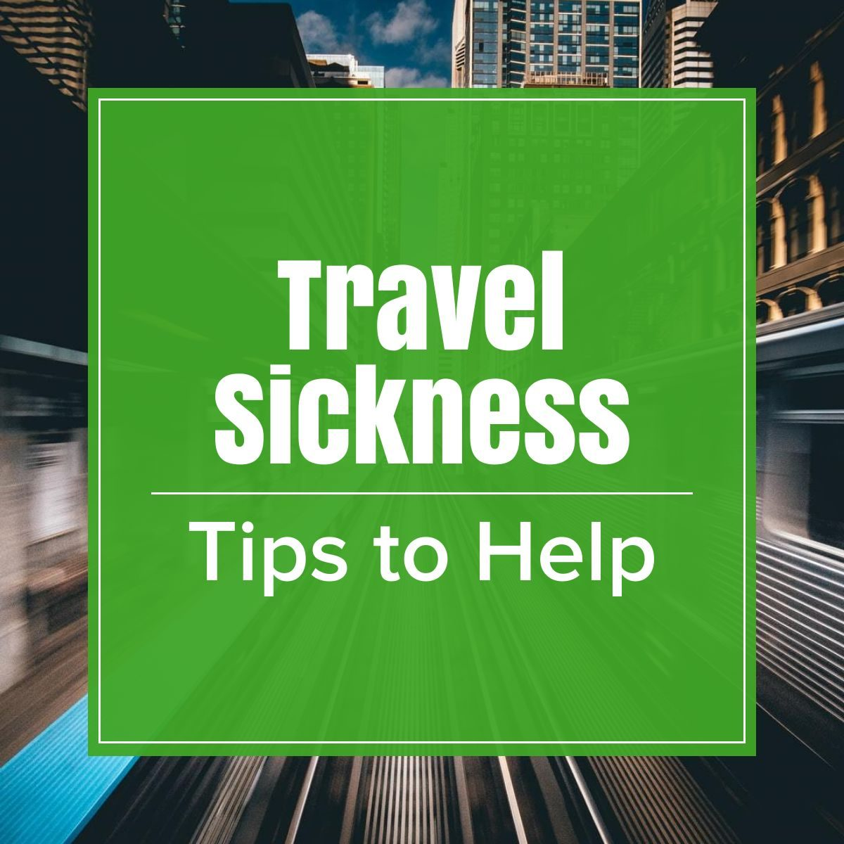 travel sickness the professional traveller