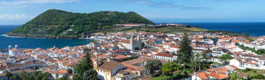 Azores Holiday Angra Do Heroismo view coach holiday expert #coachholidayexpert