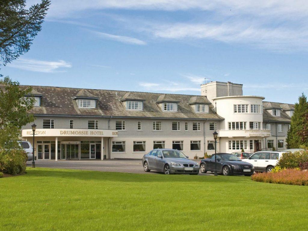 drumossie hotel, inverness hotels