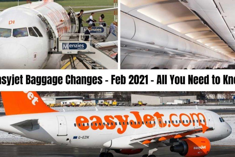 easyjet baggage #theprofessionaltraveller the professional traveller