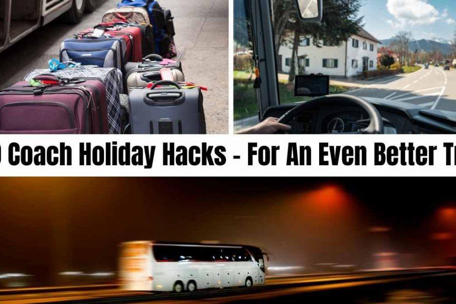 coach holiday hacks