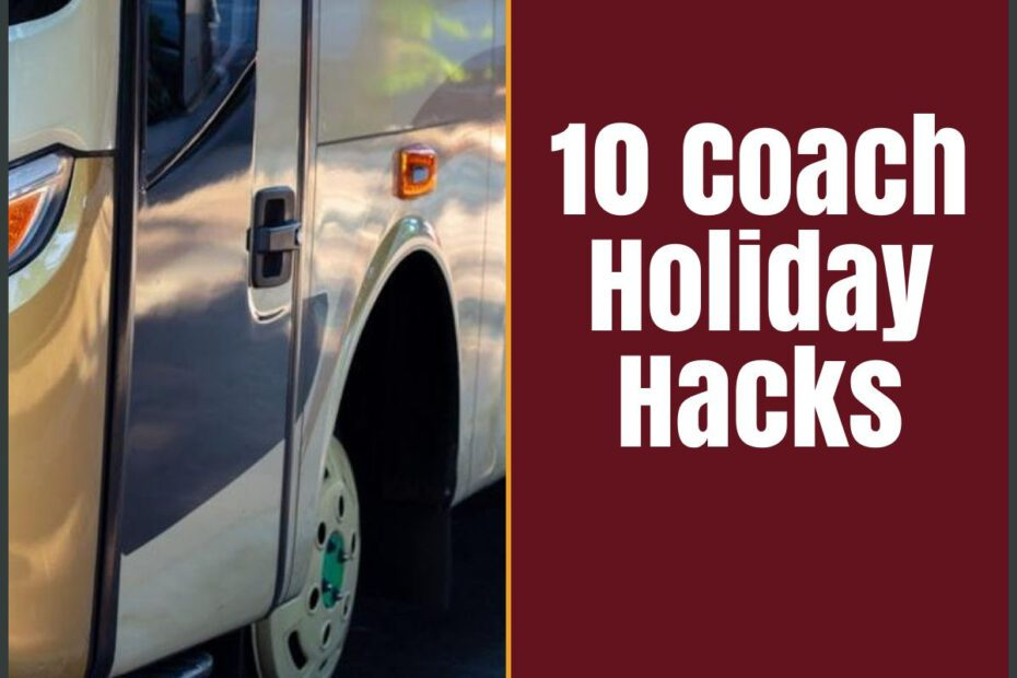 coach holiday hacks the professional traveller