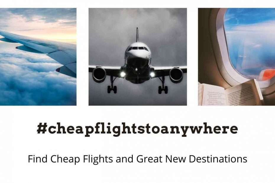 cheap flights to anywhere