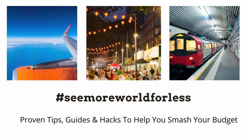 #seemoreworldforless travel cheap the professional traveller