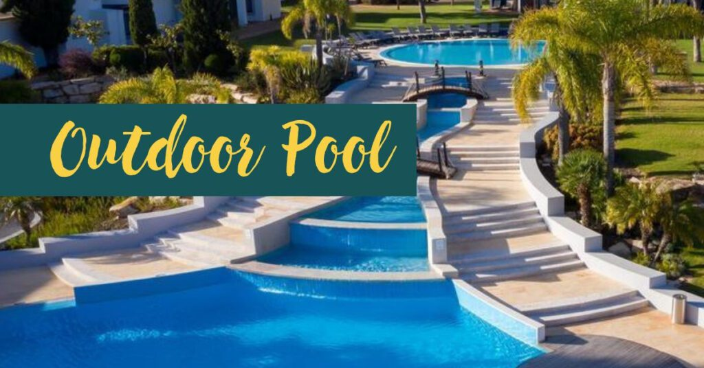 pestana outdoor pool holidays in algarve the professional traveller