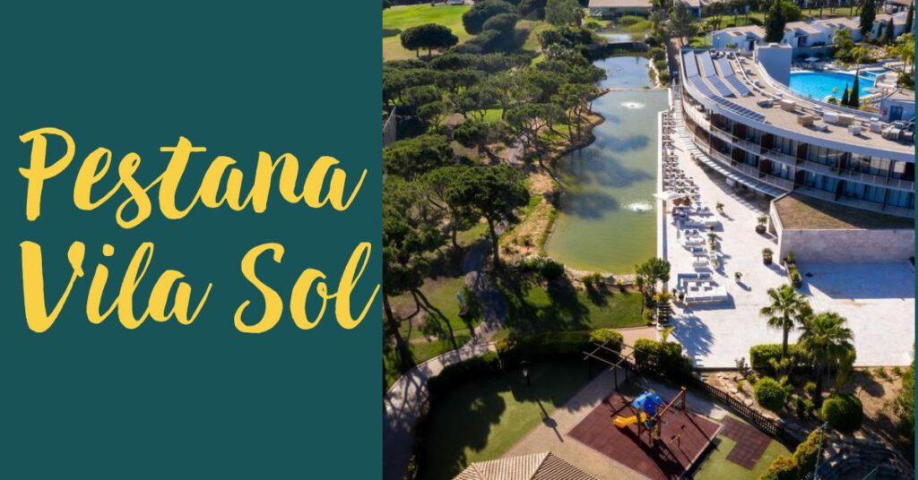pestana vila sol aerial view holidays in algarve the professional traveller