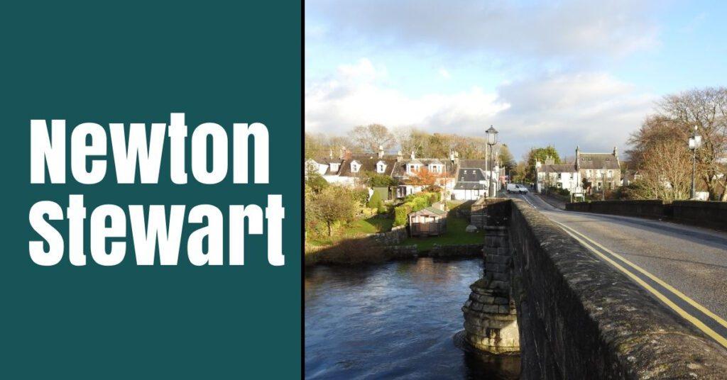 newton stewart bridge the professional traveller