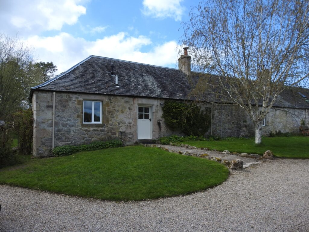forres self catering holiday cottage front view the professional traveller