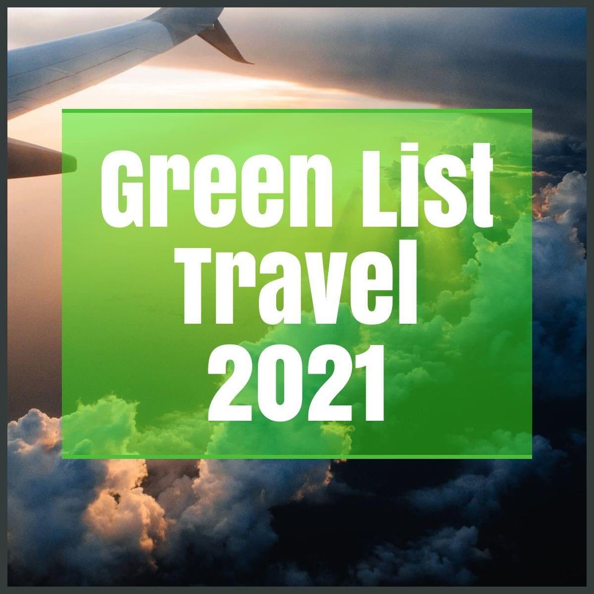 green list travel 2021 the professional traveller
