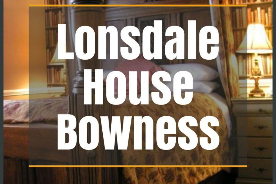 lonsdale house bowness the professional traveller