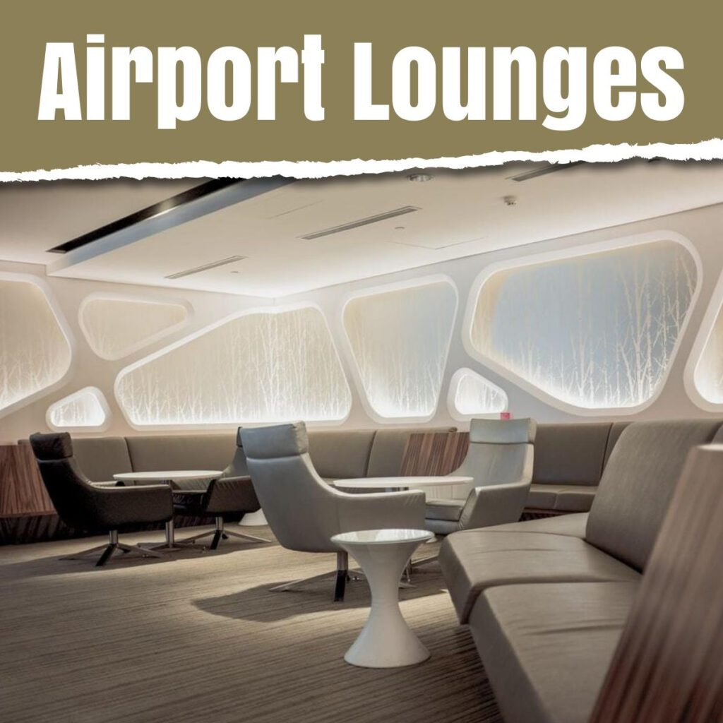 airport lounges the professional traveller media and text image