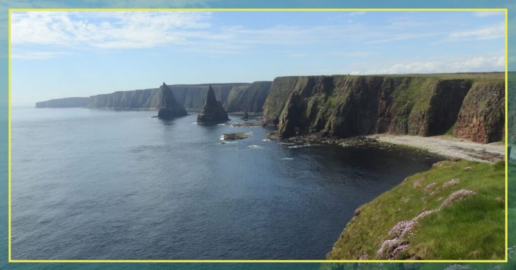 duncansby stacks first panoramic view the professional traveller