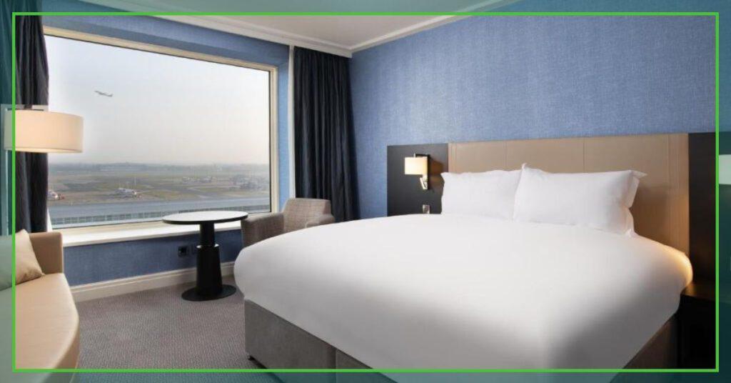 sofitel london gatwick bedroom the professional traveller