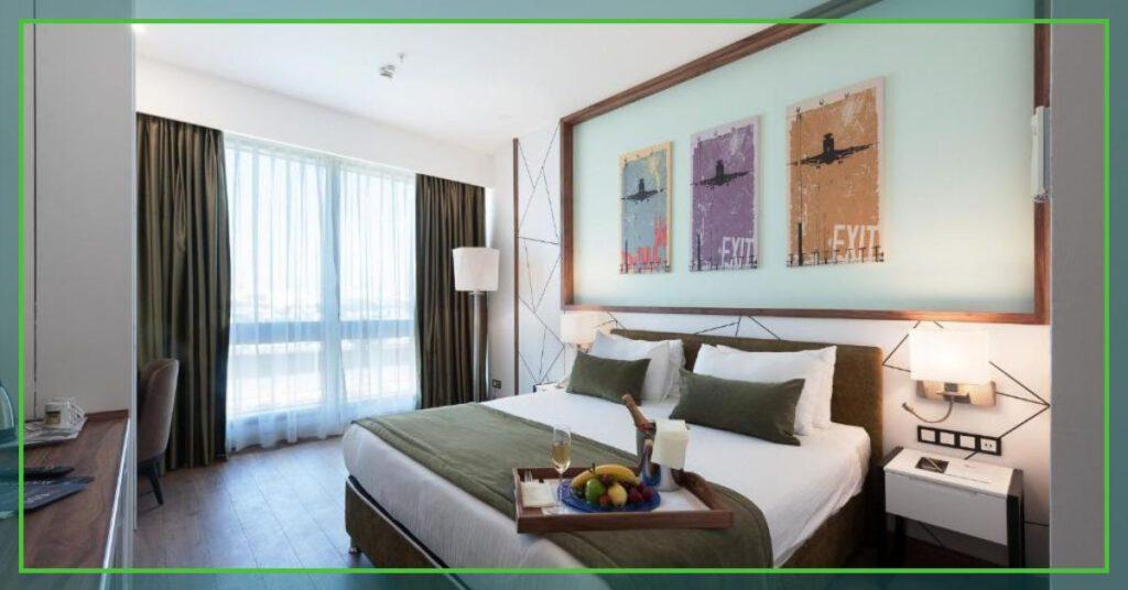 sabiha gocken airport hotel the professional traveller bedroom