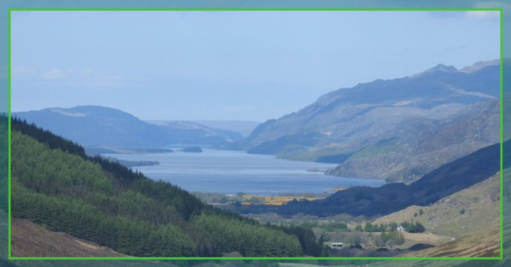 viewpoint from corrishalloch the professional traveller visiting the highlands