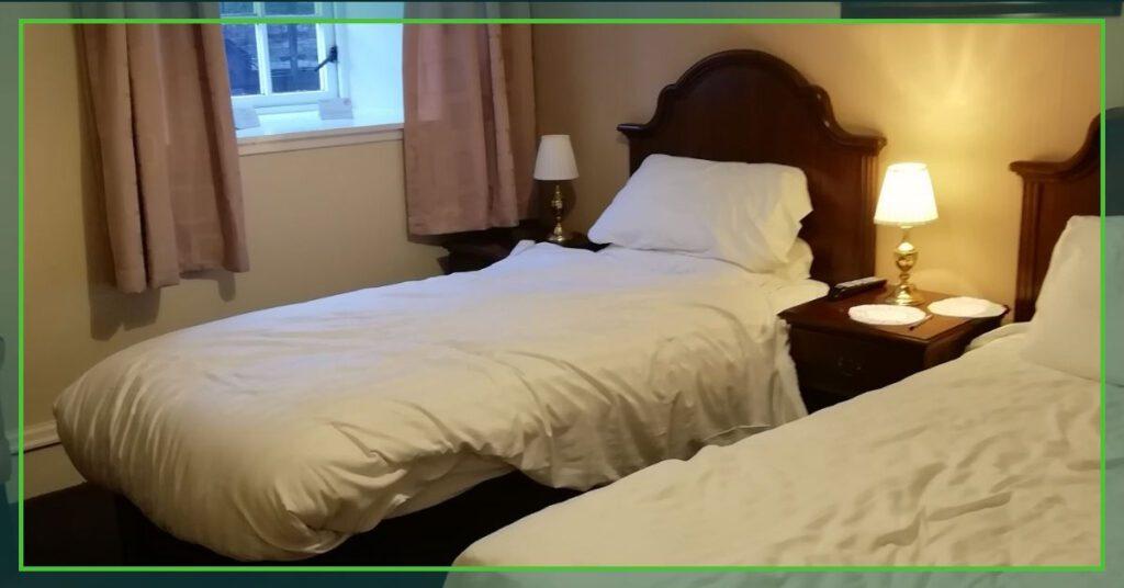 the professional traveller scottish visiting the highlands bedroom