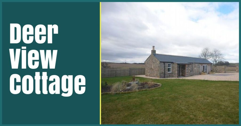 deer view cottage outside view forres self catering the professional traveller