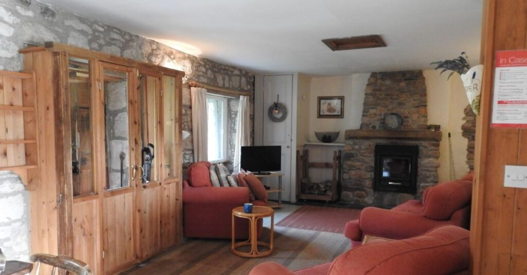 forres self catering holiday cottage living room view the professional traveller