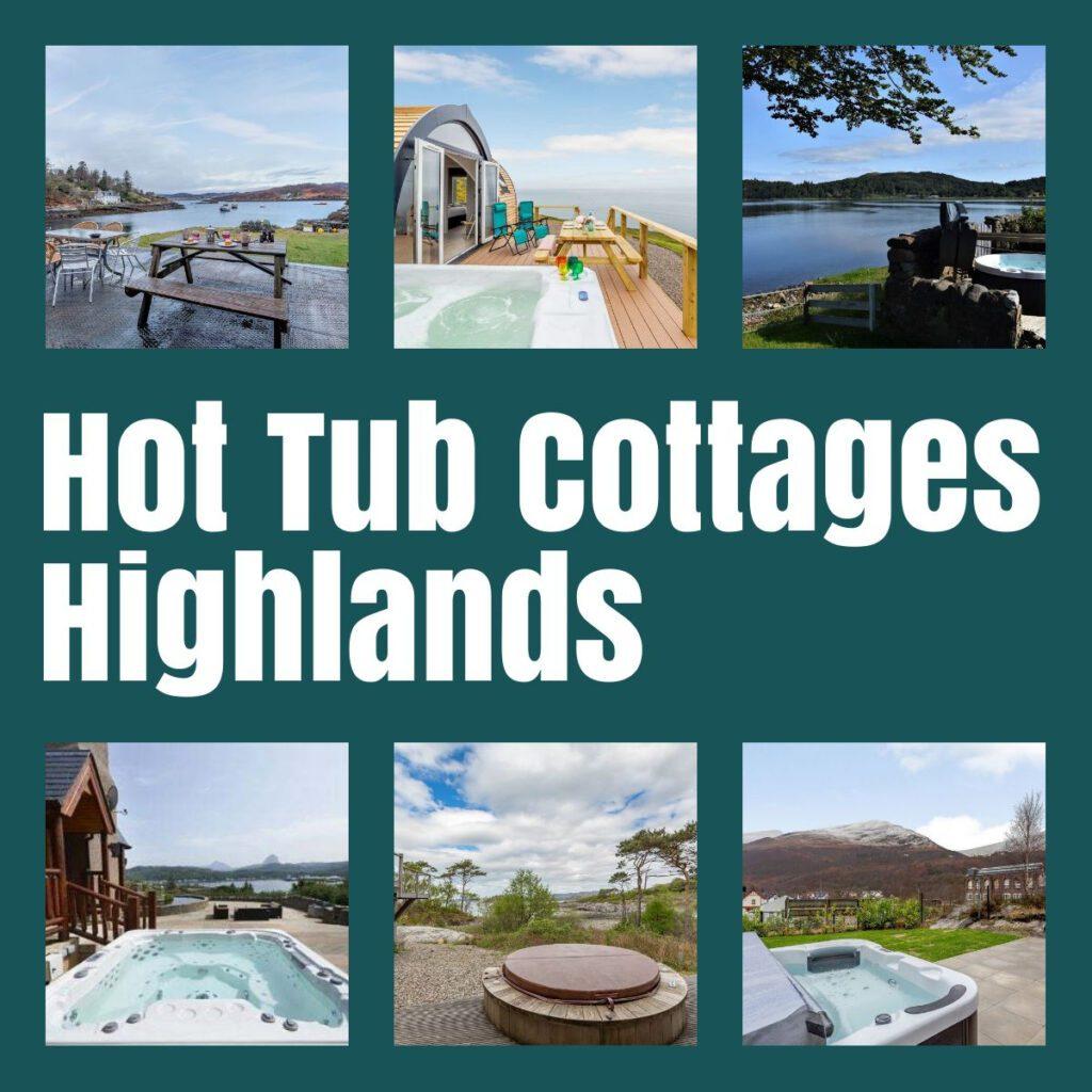 hot tub cottages highlands the professional traveller