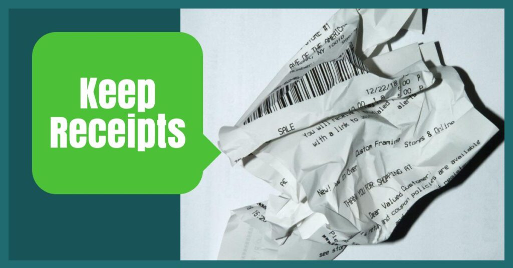 keep receipts the professional traveller year long travel insurance