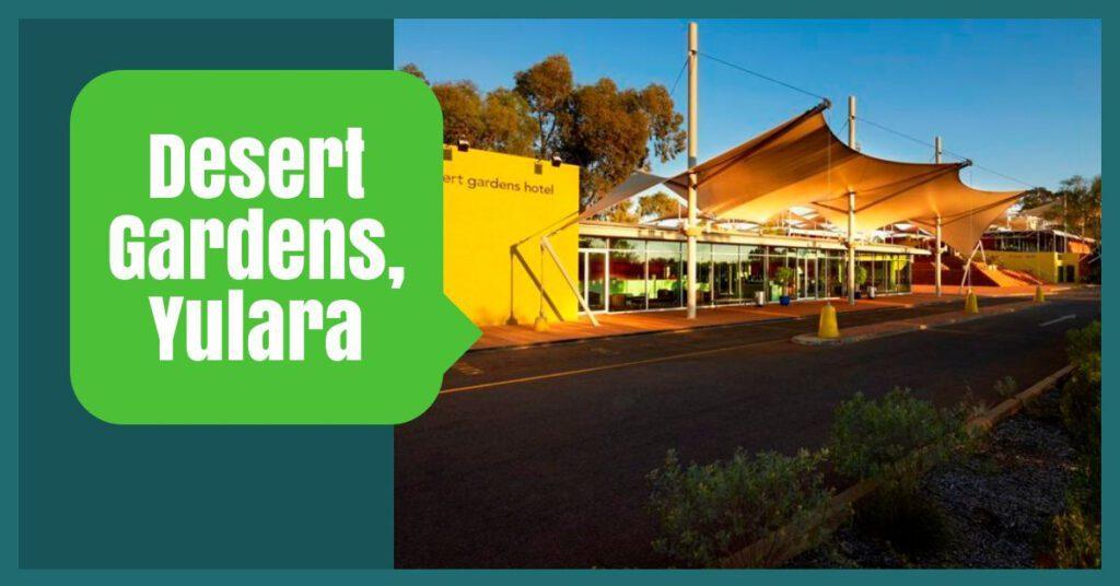 desert gardens yulara the professional traveller australia tours