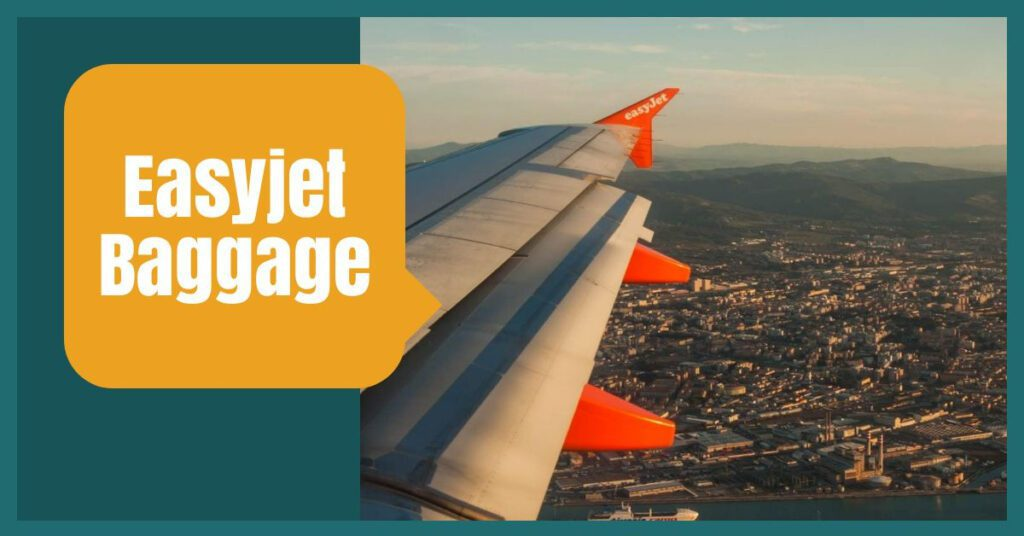 easyjet baggage view of plane wing the professional traveller