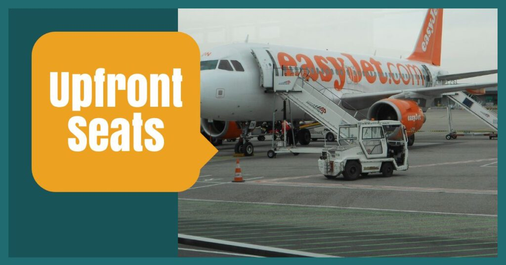 upfront seats the professional traveller easyjet baggage