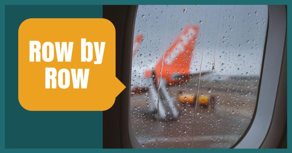 row by row easyjet baggage the professional traveller