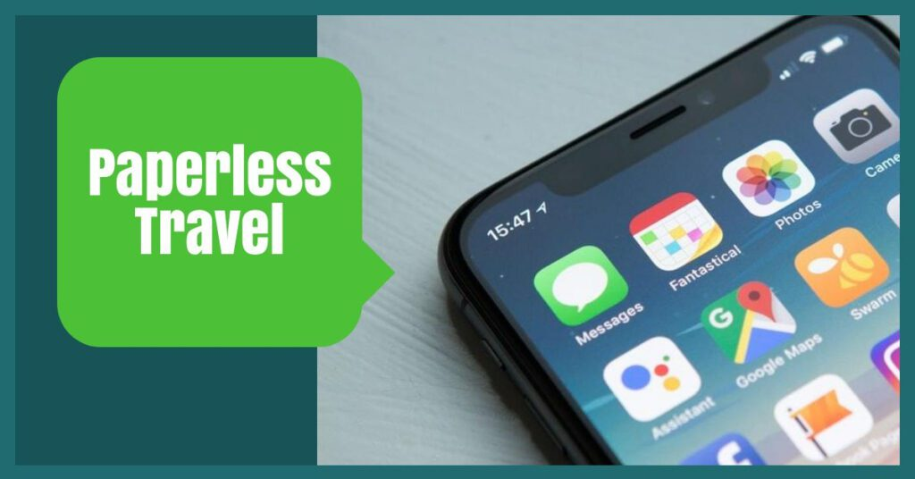 paperless travel packing hacks the professional traveller