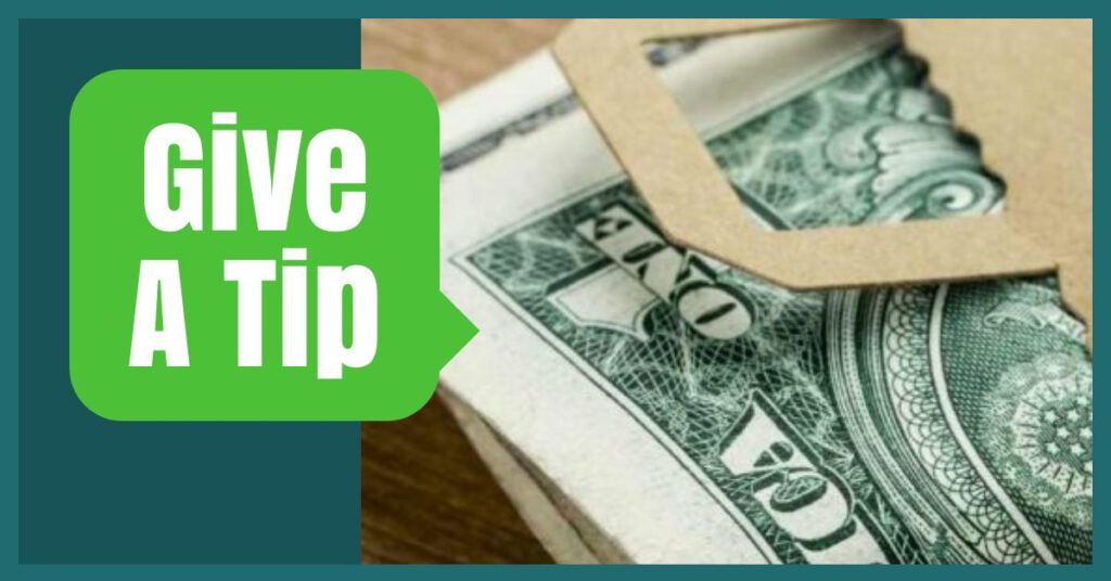 give a tip happy travel hacks the professional traveller