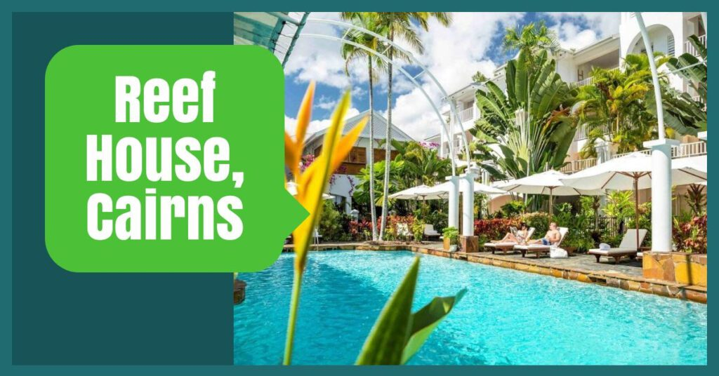 reef house the professional traveller australia tours