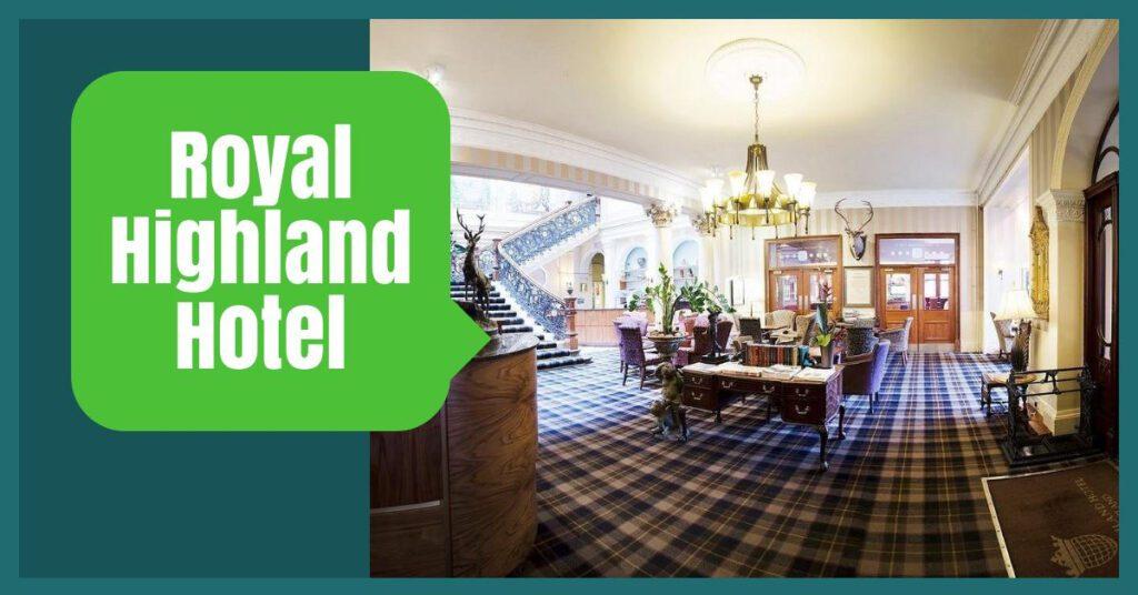 royal highland hotel the professional traveller inverness hotel deals