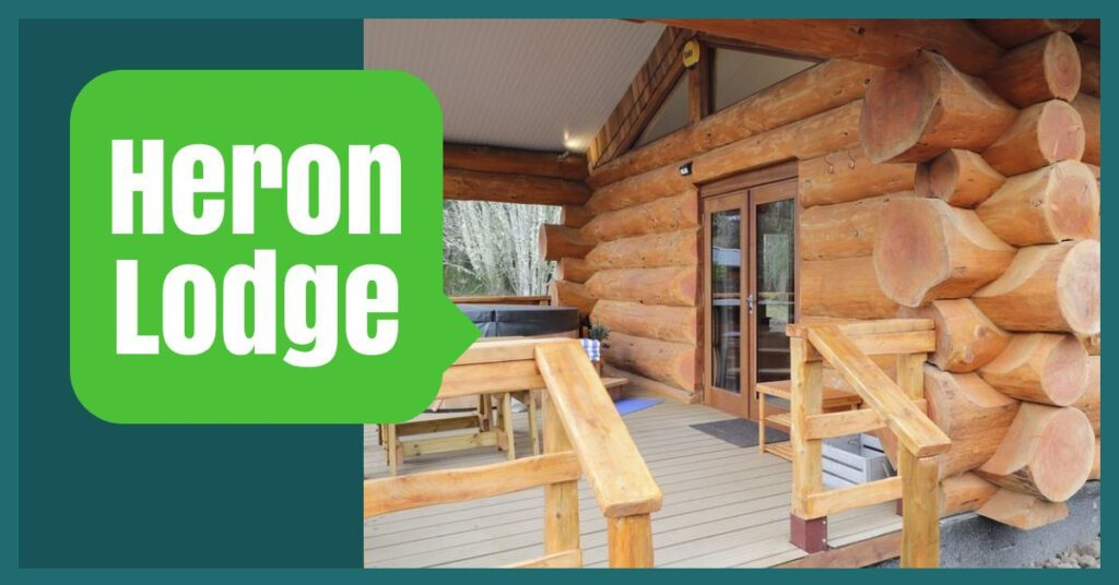 lodges with hot tubs inverness the professional traveller heron lodge