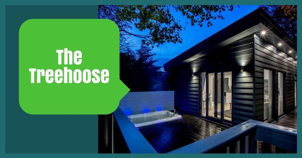 lodges with hot tubs inverness the treehoose the professional traveller