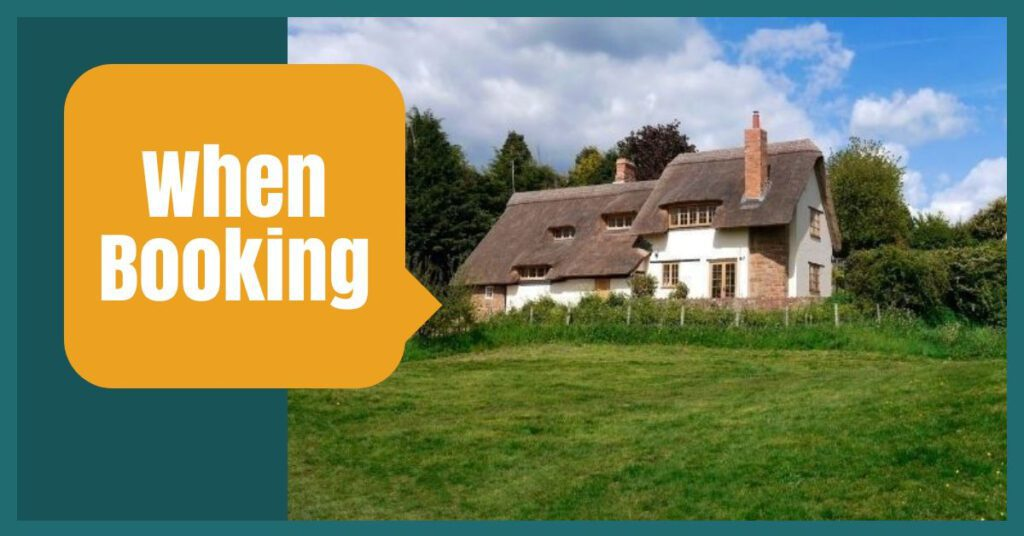 self catering holiday tips when booking the professional traveller