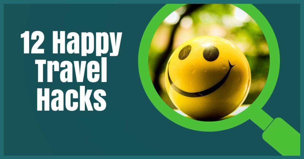 happy travel hacks the professional traveller header image
