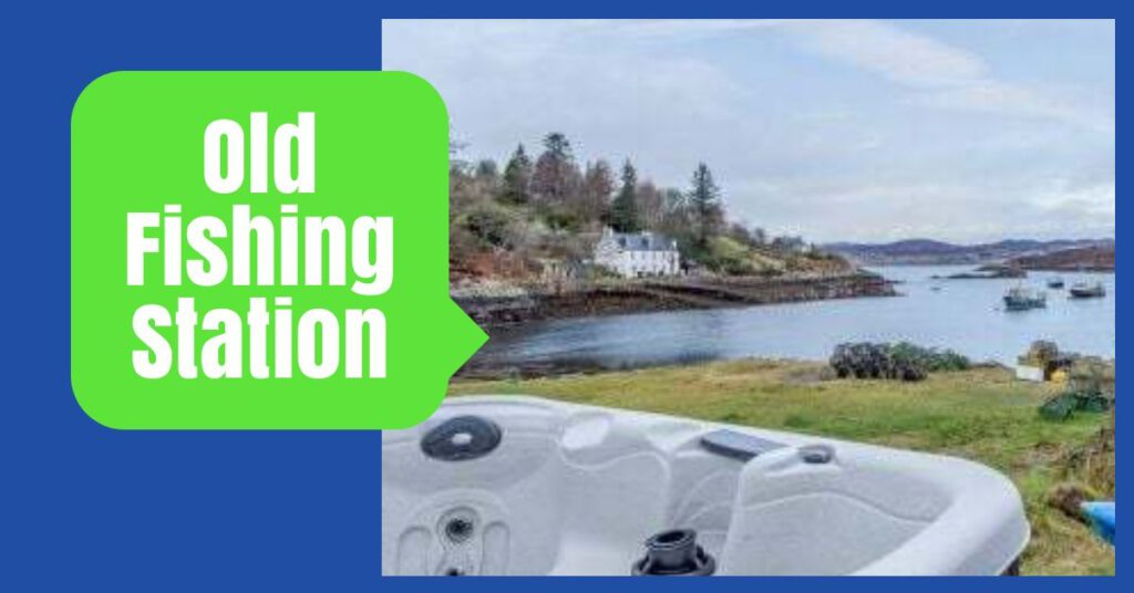 old fishing station highland cottages with hot tubs the professional traveller
