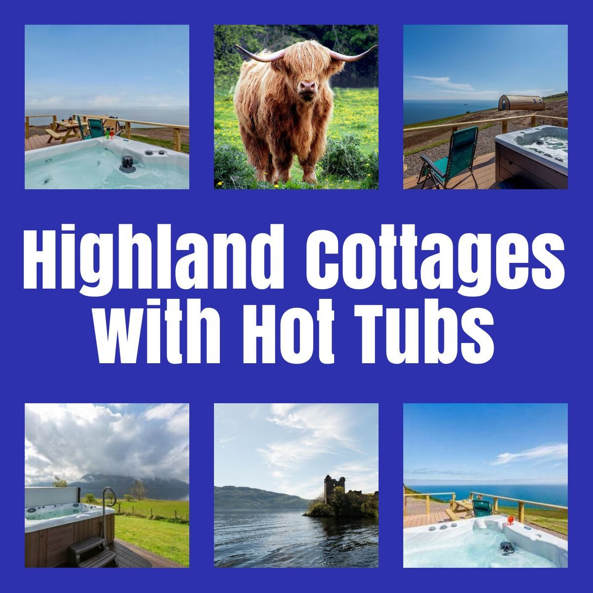 highland cottages with hot tubs the professional traveller