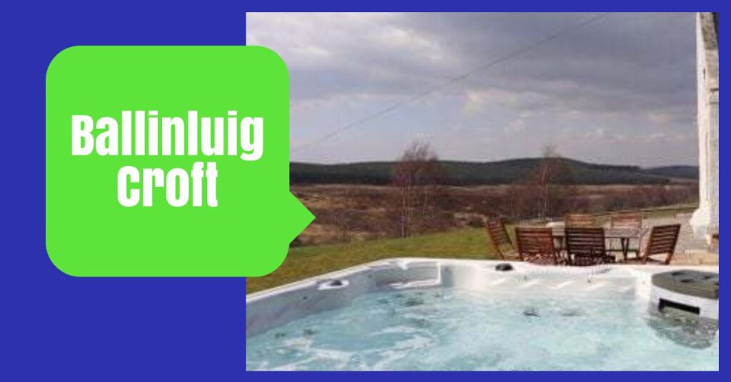 ballinluig croft the professional traveller highland cottages with hot tubs
